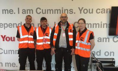 Dyer Engineering, Target Zero Team visit Cummins, Daventry