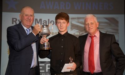 Ryan Malone Scoops Apprentice of The Year Award