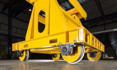 Accommodation Bogie for Rail-Car Production