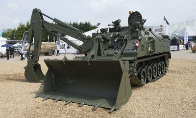 Combat Engineering Vehicle : Front Loading  Assembly
