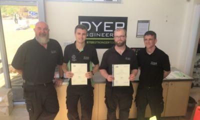 4th Year Apprentices Complete Their Training