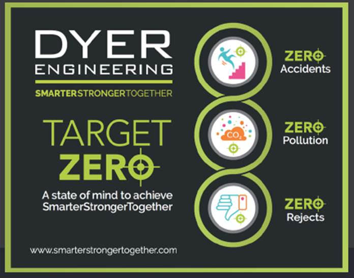 North East fabrication specialists Dyer Engineering Target Zero safety initiative