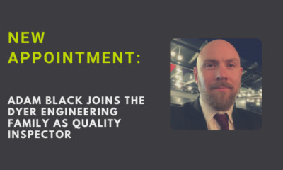 New appointment: Adam Black joins manufacturing specialists Dyer Engineering