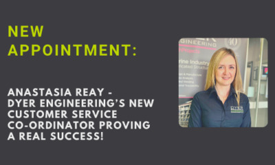 Anastasia Reay Joins Metal Component Specialists – Dyer Engineering