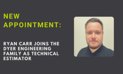 Ryan Carr joins North East Component Specialists Dyer Engineering