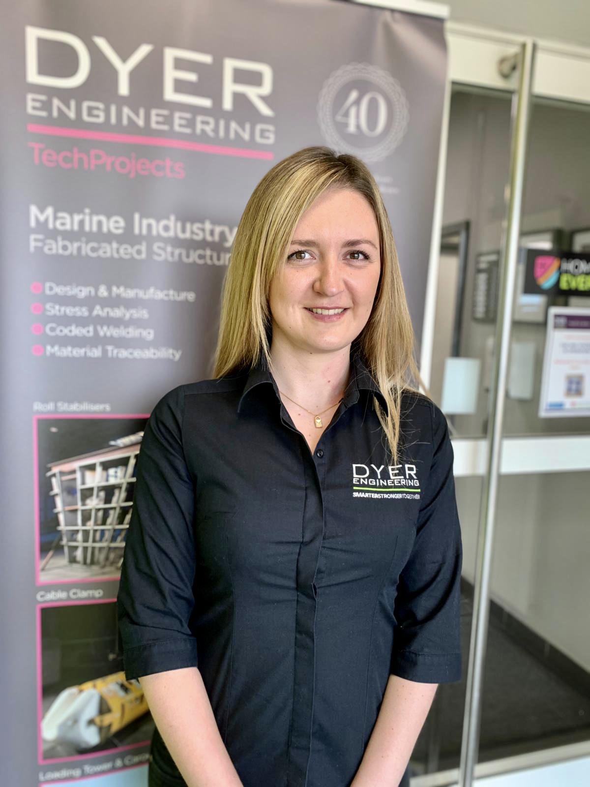 Anastasia Reay Joins Dyer Engineering